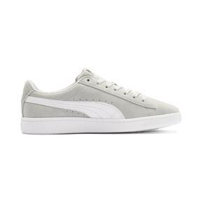 Thumbnail 5 of PUMA Vikky v2 Suede Sneakers JR, Gray Violet-White-Silver, medium