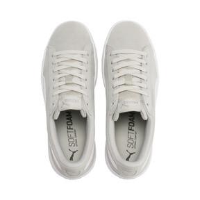Thumbnail 6 of PUMA Vikky v2 Suede Sneakers JR, Gray Violet-White-Silver, medium