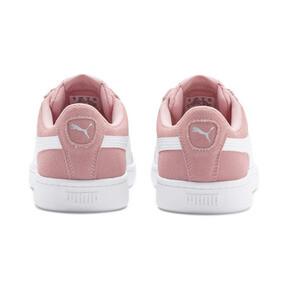 Thumbnail 3 of PUMA Vikky v2 Suede Sneakers JR, Bridal Rose-White-Silver, medium