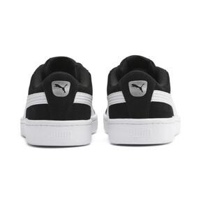 Thumbnail 3 of PUMA Vikky v2 Suede AC Sneakers PS, Puma Black-Puma White-Silver, medium