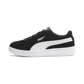 Thumbnail 1 of PUMA Vikky v2 Suede AC Sneakers PS, Puma Black-Puma White-Silver, medium