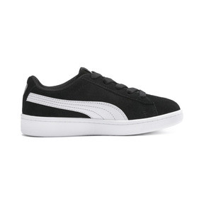 Thumbnail 5 of PUMA Vikky v2 Suede AC Sneakers PS, Puma Black-Puma White-Silver, medium