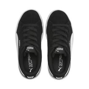 Thumbnail 6 of PUMA Vikky v2 Suede AC Sneakers PS, Puma Black-Puma White-Silver, medium