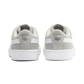 Thumbnail 3 of PUMA Vikky v2 Suede AC Sneakers PS, Gray Violet-White-Silver, medium