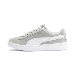 Thumbnail 1 of PUMA Vikky v2 Suede AC Sneakers PS, Gray Violet-White-Silver, medium
