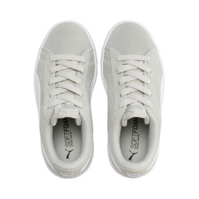 Thumbnail 6 of PUMA Vikky v2 Suede AC Sneakers PS, Gray Violet-White-Silver, medium