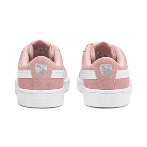 Thumbnail 4 of PUMA Vikky v2 Suede AC Sneakers PS, Bridal Rose-White-Silver, medium