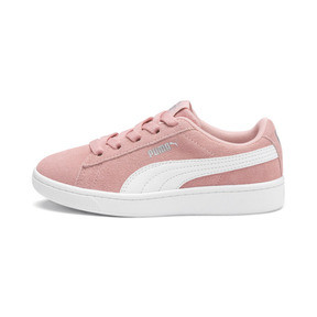 Thumbnail 1 of PUMA Vikky v2 Suede AC Sneakers PS, Bridal Rose-White-Silver, medium