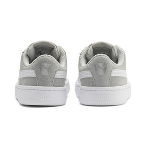 Thumbnail 3 of PUMA Vikky v2 Suede AC Sneakers INF, Gray Violet-White-Silver, medium