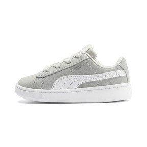 Thumbnail 1 of PUMA Vikky v2 Suede AC Sneakers INF, Gray Violet-White-Silver, medium