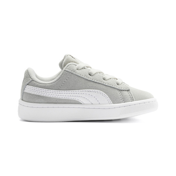 PUMA Vikky v2 Suede AC Sneakers INF, Gray Violet-White-Silver, large