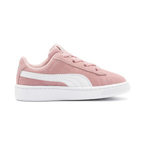 Thumbnail 4 of PUMA Vikky v2 Suede AC Sneakers INF, Bridal Rose-White-Silver, medium