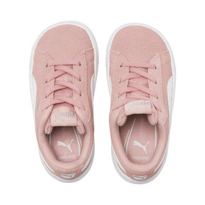 Thumbnail 6 of PUMA Vikky v2 Suede AC Sneakers INF, Bridal Rose-White-Silver, medium