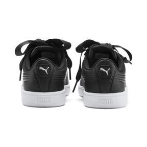 Thumbnail 3 of PUMA Vikky v2 Ribbon Sneakers JR, Puma Black-Puma Silver-White, medium