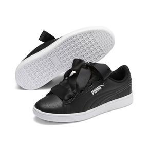 Thumbnail 2 of PUMA Vikky v2 Ribbon Sneakers JR, Puma Black-Puma Silver-White, medium