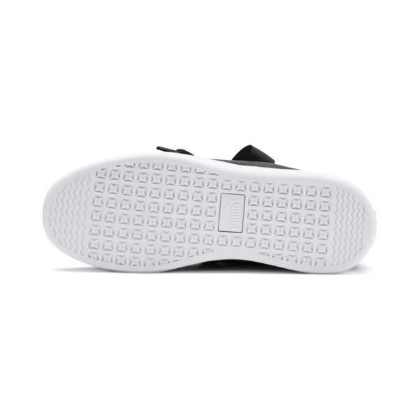 PUMA Vikky v2 Ribbon Sneakers JR, Puma Black-Puma Silver-White, large