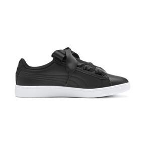 Thumbnail 5 of PUMA Vikky v2 Ribbon Sneakers JR, Puma Black-Puma Silver-White, medium