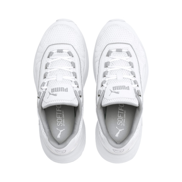 Nucleus Sneakers JR, Puma White-High Rise, large