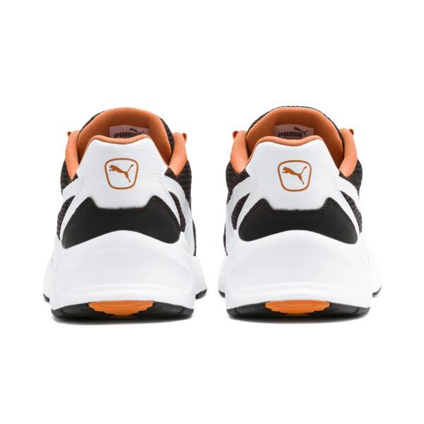 Nucleus Sneakers JR, Puma White-Jaffa Orange, large