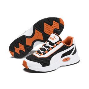 Thumbnail 2 of Nucleus Sneakers JR, Puma White-Jaffa Orange, medium