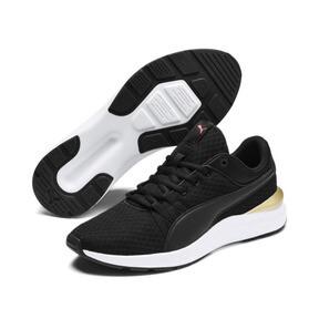 Thumbnail 3 of Adela Core Women's Sneakers, Puma Black-Puma Team Gold, medium