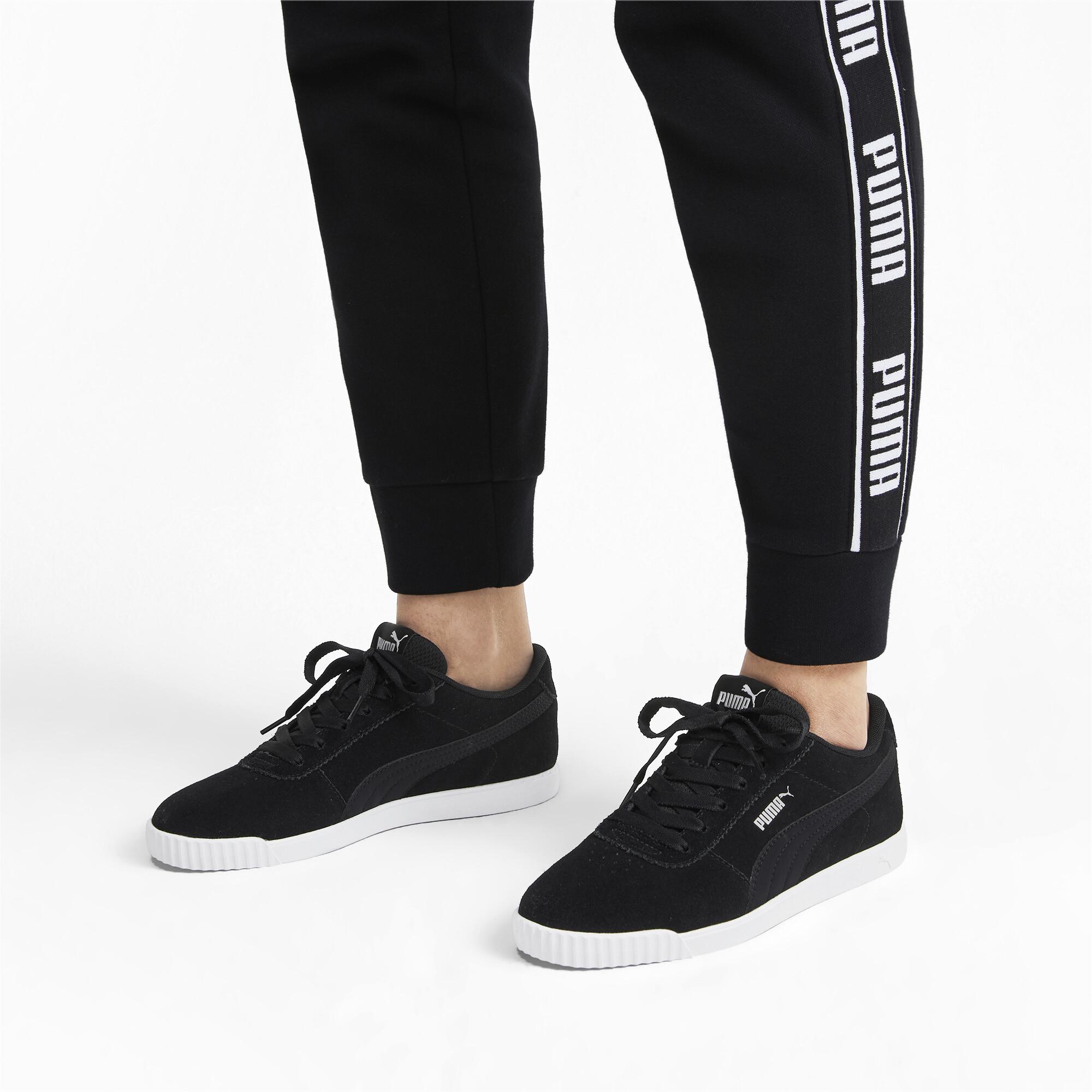 PUMA-Women-039-s-Carina-Slim-Suede-Sneakers thumbnail 19