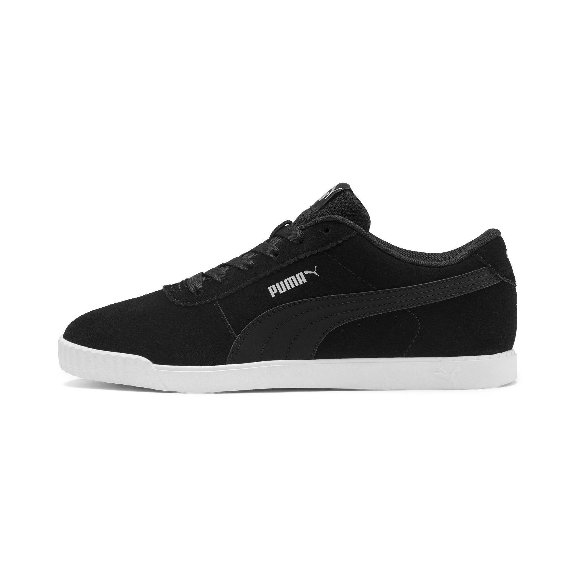 PUMA-Women-039-s-Carina-Slim-Suede-Sneakers thumbnail 18