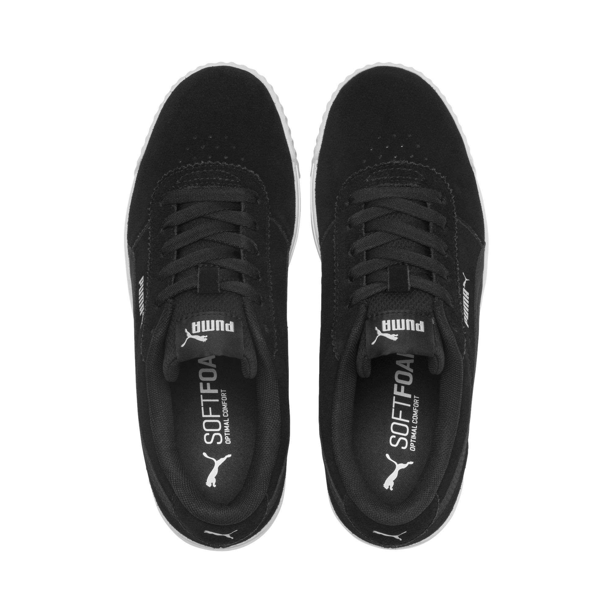 PUMA-Women-039-s-Carina-Slim-Suede-Sneakers thumbnail 22