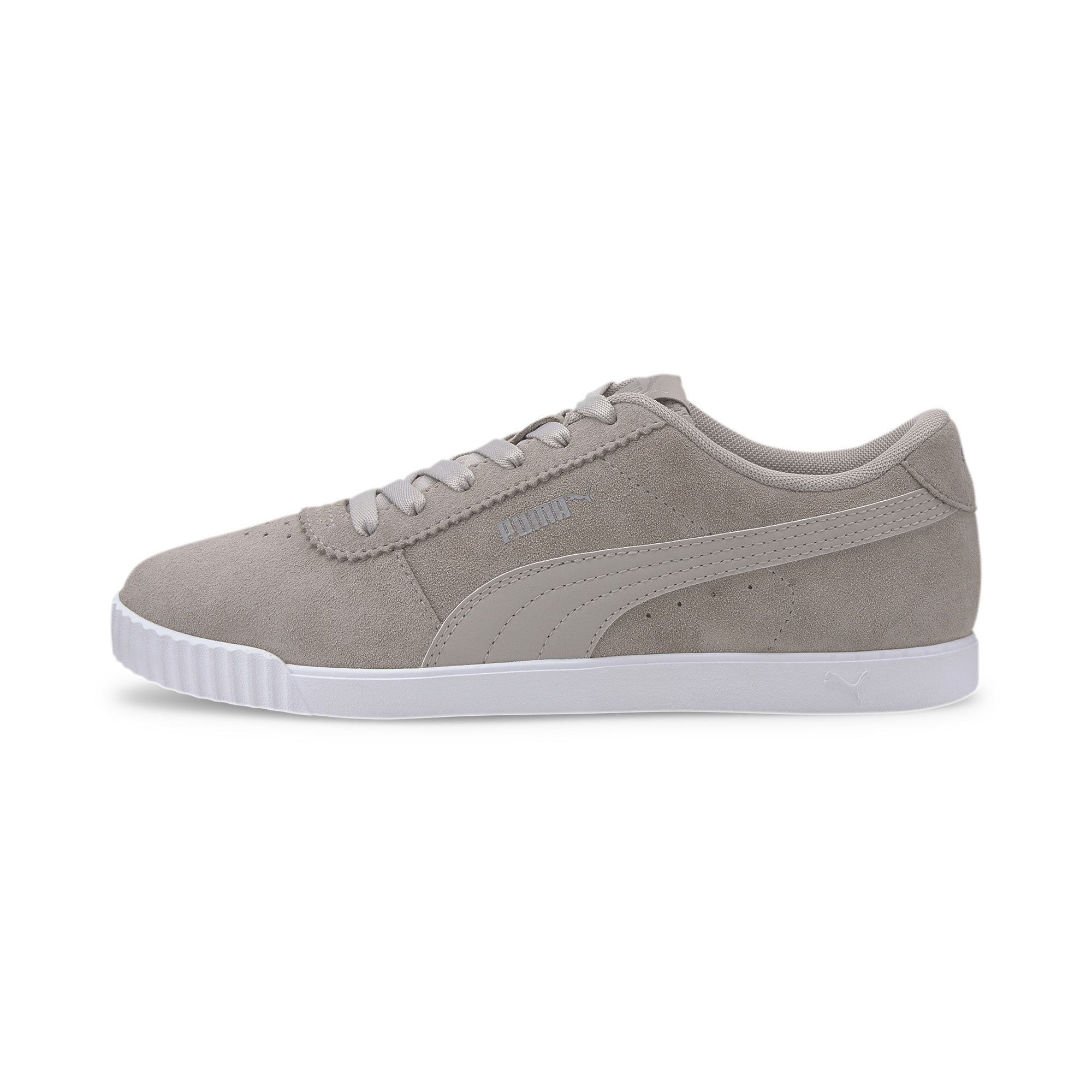 PUMA-Women-039-s-Carina-Slim-Suede-Sneakers thumbnail 4