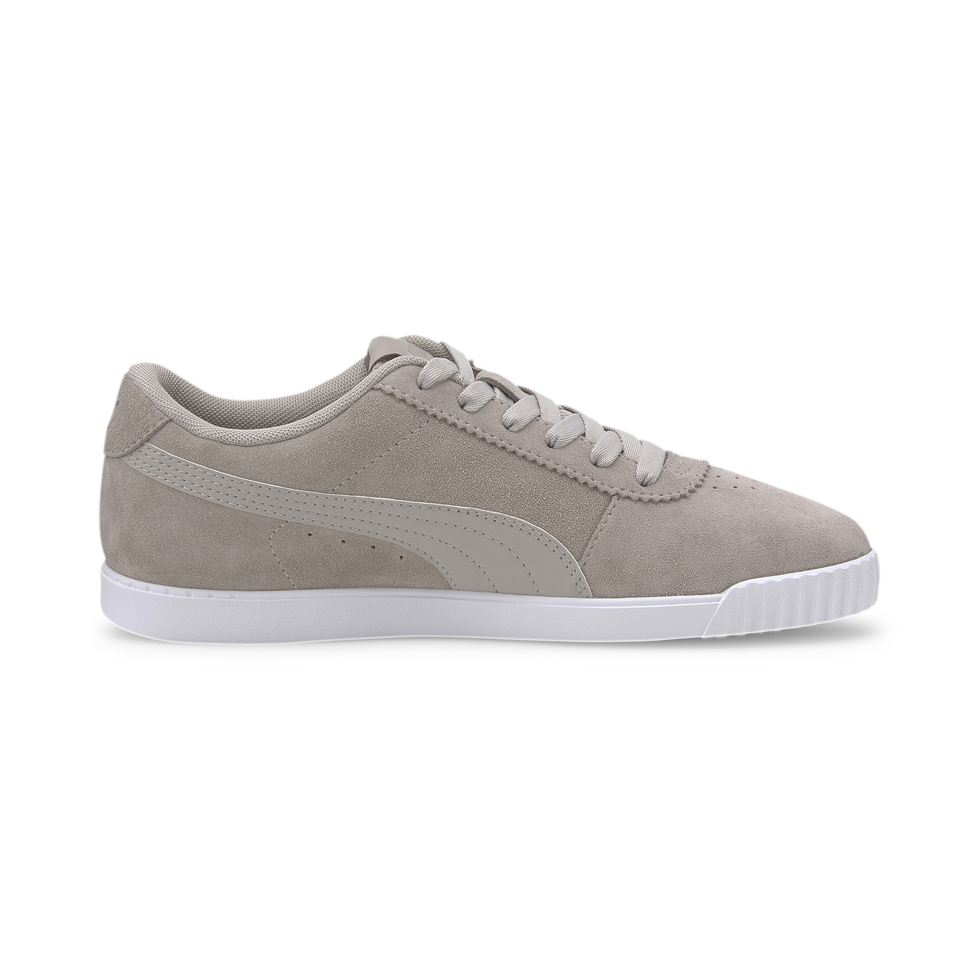 PUMA-Women-039-s-Carina-Slim-Suede-Sneakers thumbnail 7