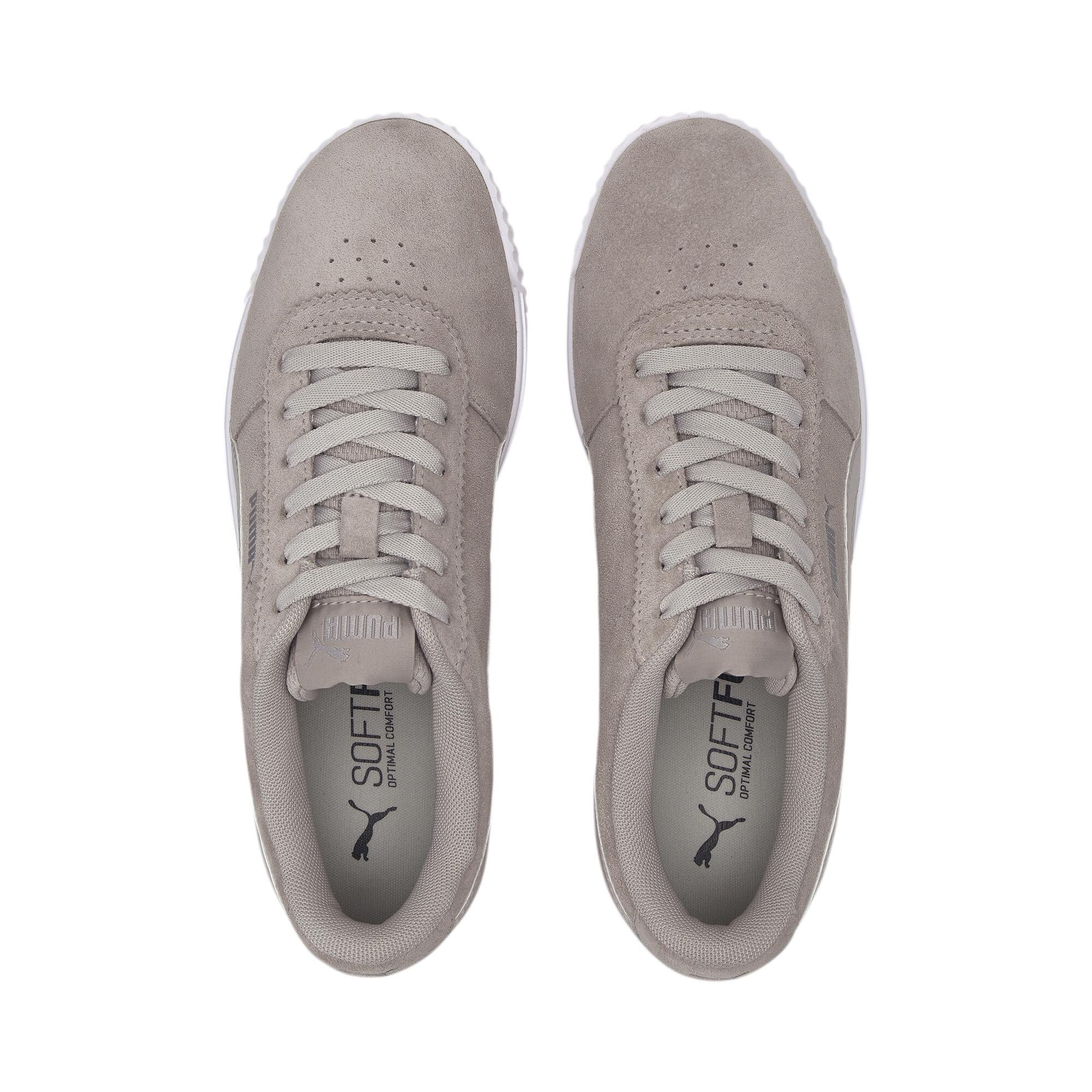 PUMA-Women-039-s-Carina-Slim-Suede-Sneakers thumbnail 8