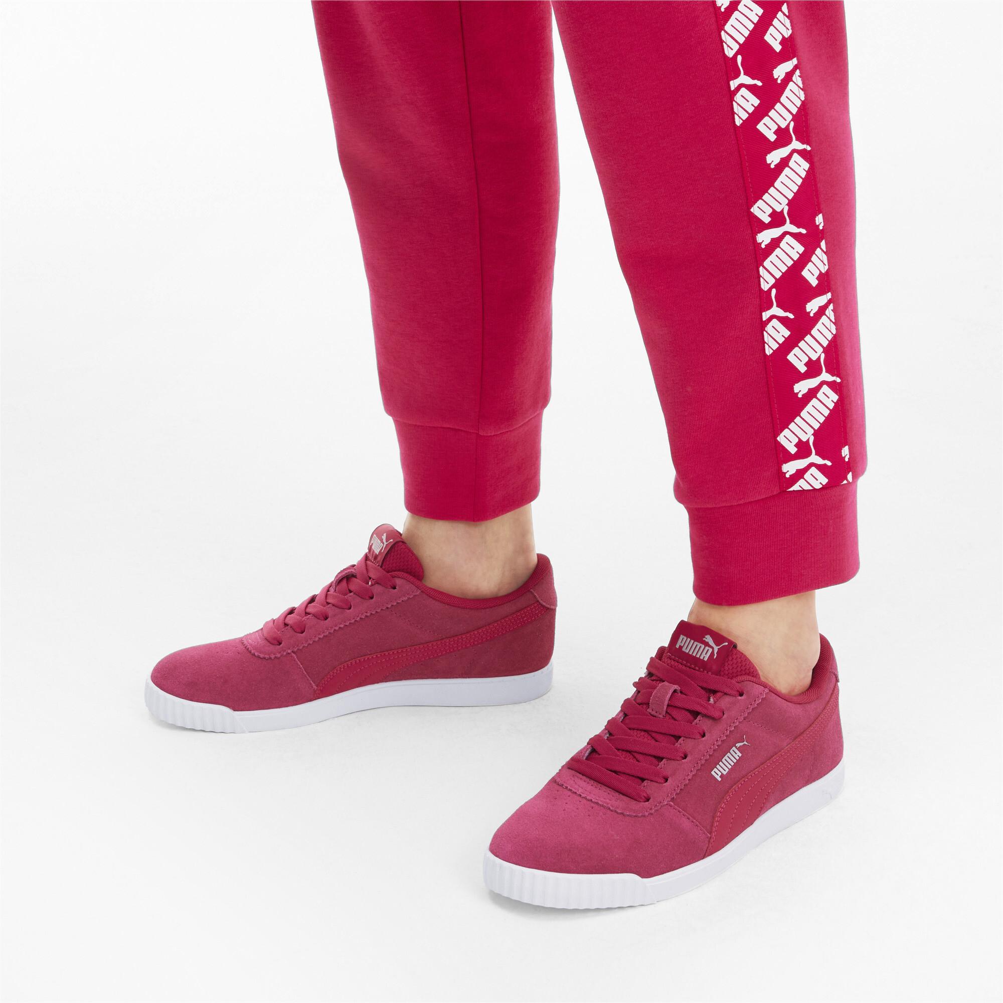 PUMA-Women-039-s-Carina-Slim-Suede-Sneakers thumbnail 12