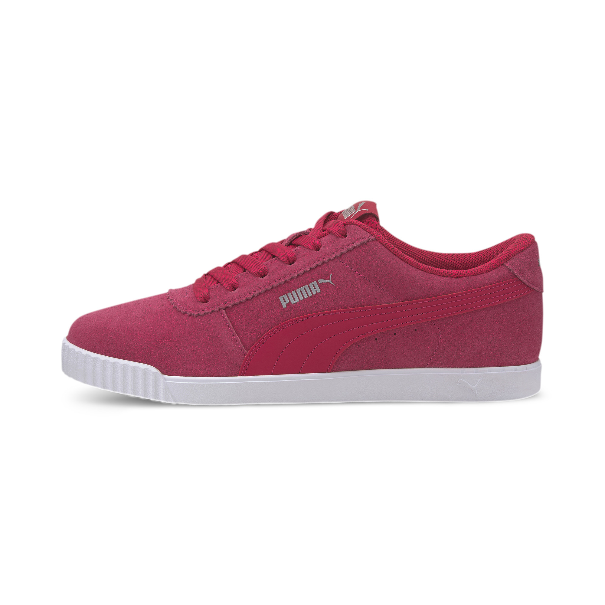 PUMA-Women-039-s-Carina-Slim-Suede-Sneakers thumbnail 11