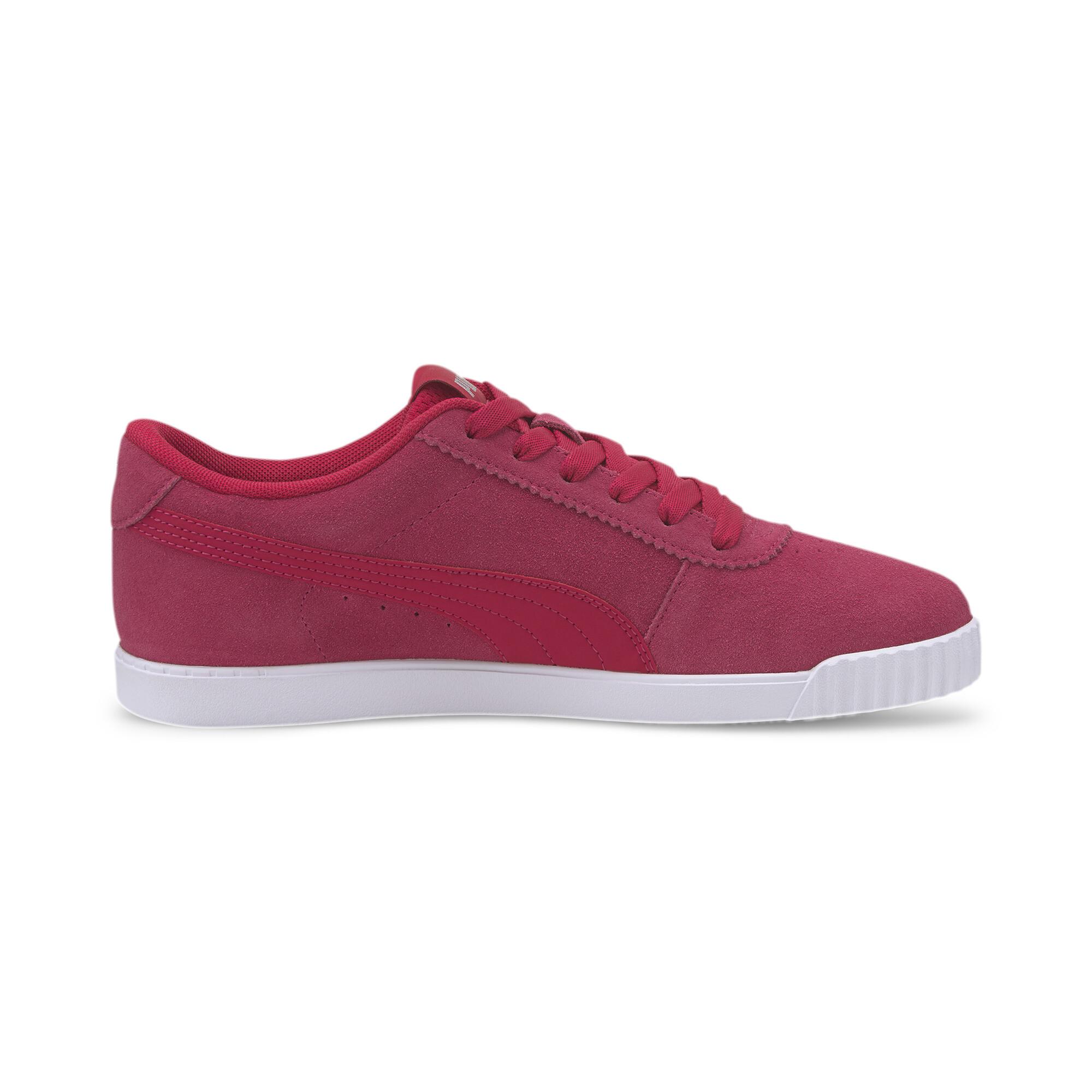 PUMA-Women-039-s-Carina-Slim-Suede-Sneakers thumbnail 14