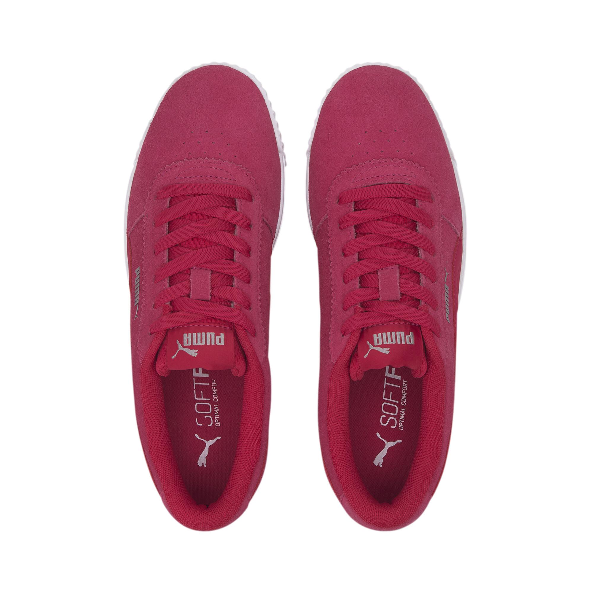 PUMA-Women-039-s-Carina-Slim-Suede-Sneakers thumbnail 15