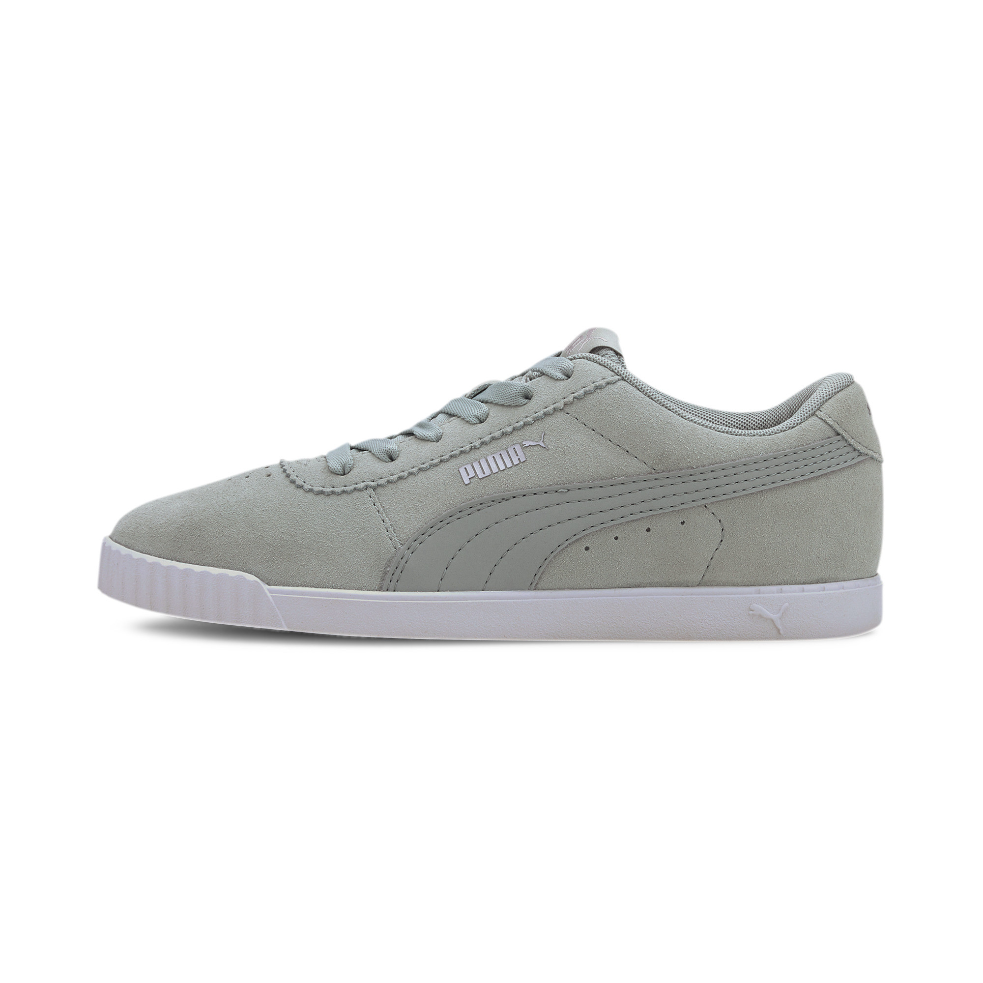 PUMA-Women-039-s-Carina-Slim-Suede-Sneakers thumbnail 25