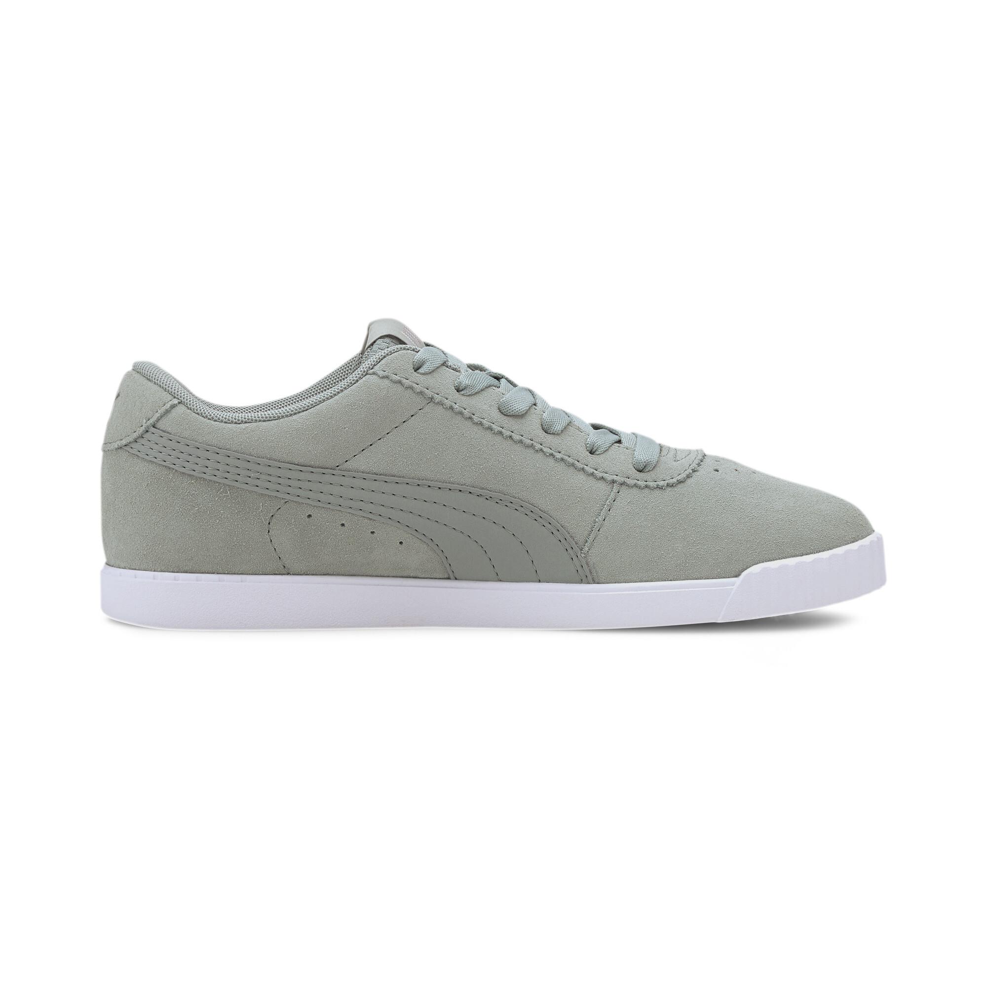 PUMA-Women-039-s-Carina-Slim-Suede-Sneakers thumbnail 27