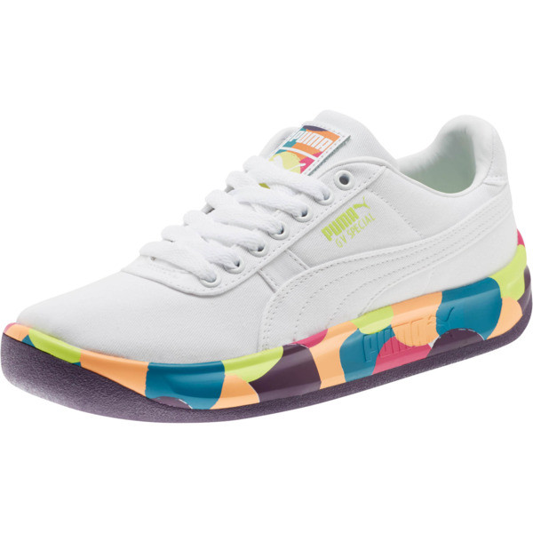 GV Special Silly Sneakers JR, Puma White-Indigo, large