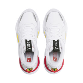 Thumbnail 6 of Ferrari RS-X Trophy Trainers, White-White-Rosso Corsa, medium