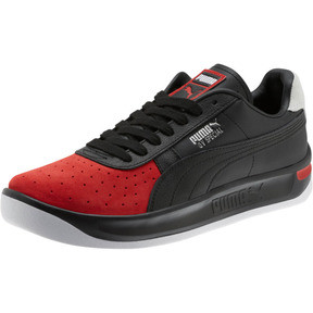 Thumbnail 1 of GV Special Speedway Men's Sneakers, Puma Black-High Risk Red, medium