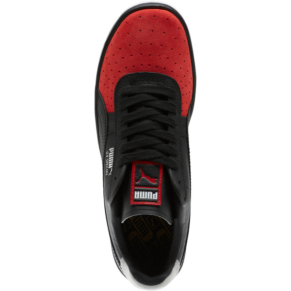GV Special Speedway Men's Sneakers, Puma Black-High Risk Red, large