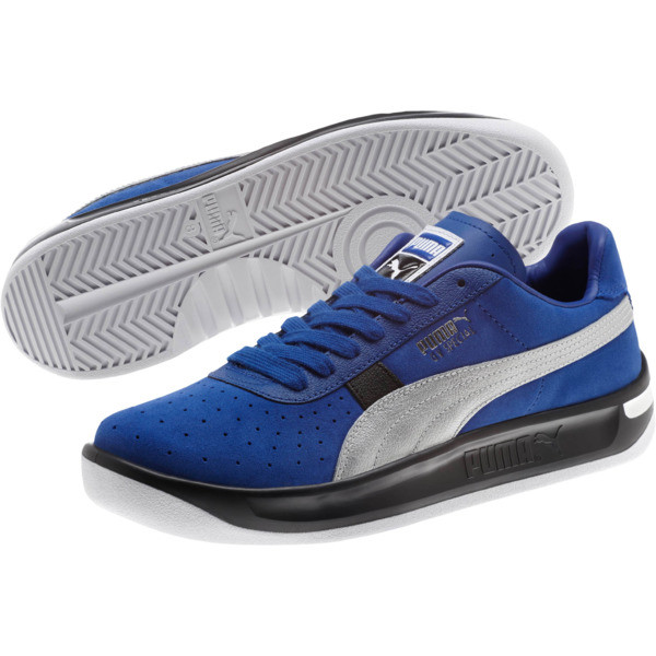 GV Special Speedway VL Men's Sneakers, Surf The Web-Puma Silver, large