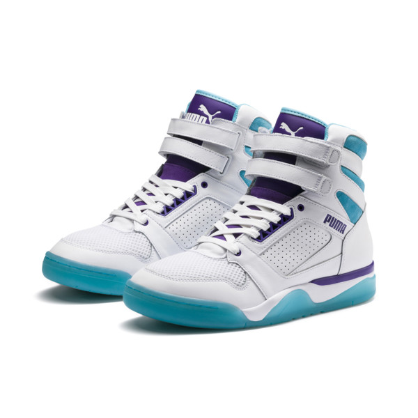new product d1a4a 092aa Palace Guard Mid Queen City Sneakers, Puma White-Blue Atoll, large
