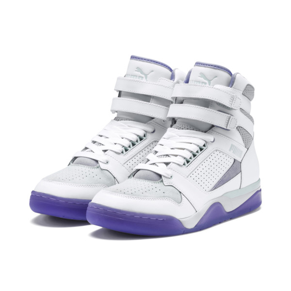 Zapatos deportivos Palace Guard Mid Easter, PWht-Dandelion-Prism Violet, grande