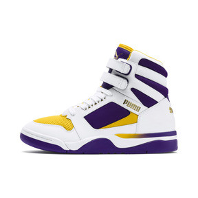 Thumbnail 1 of Palace Guard Mid Finals Sneakers, Puma White-Prism Violet-, medium