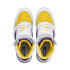 Thumbnail 6 of Palace Guard Mid Finals Sneakers, Puma White-Prism Violet-, medium