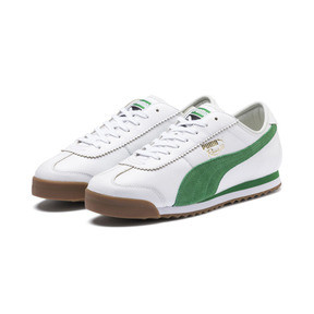 Thumbnail 3 of Roma '68 OG Sneakers, Puma White-Amazon Green, medium