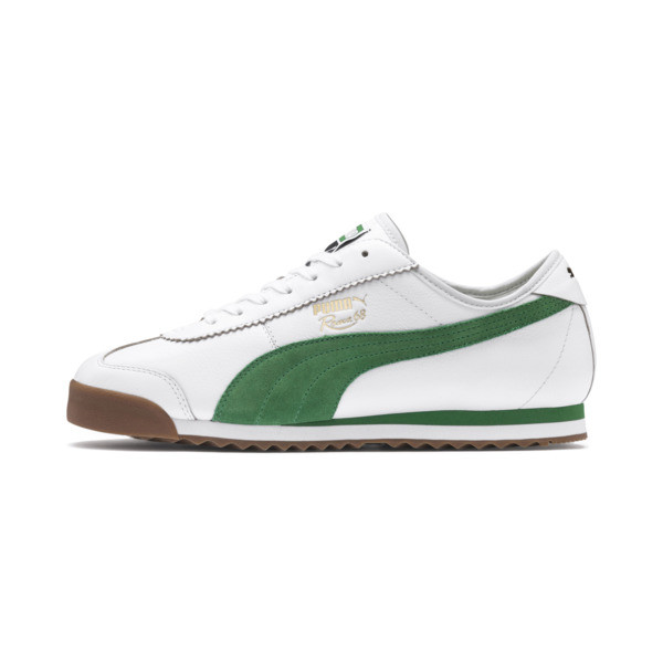 Roma '68 OG Sneakers, Puma White-Amazon Green, large
