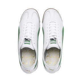 Thumbnail 7 of Roma '68 OG Sneakers, Puma White-Amazon Green, medium