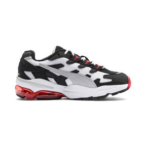 Thumbnail 5 of CELL Alien Kids' Trainers, Puma White-High Risk Red, medium
